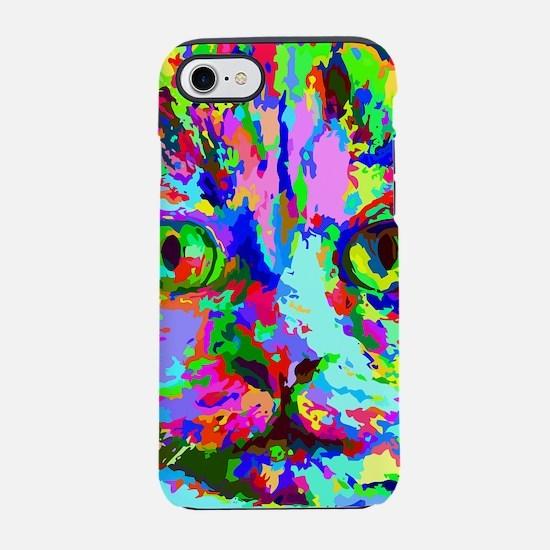 Pop Art Kitten iPhone 7 Tough Case