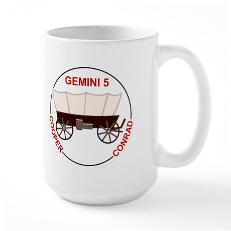 Project Gemini Program Logo Large Mug