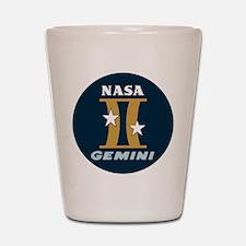 Project Gemini Program Logo Shot Glass