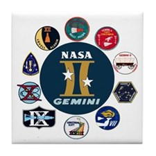 Gemini Commemorative Tile Coaster