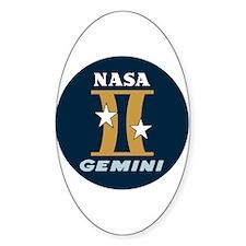 Project Gemini Program Logo Bumper Stickers