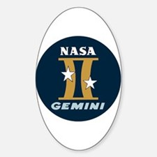 Project Gemini Program Logo Bumper Stickers