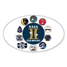 Gemini Commemorative Bumper Stickers