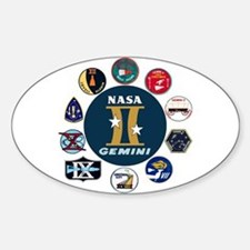 Gemini Commemorative Bumper Stickers