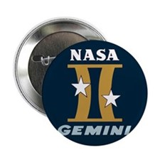 "Project Gemini Program Logo 2.25"" Button"