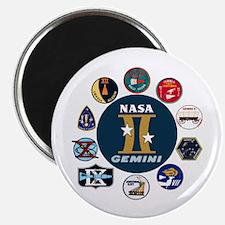 Gemini Commemorative Magnet