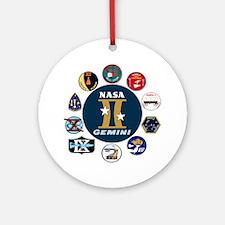 Gemini Commemorative Ornament (Round)