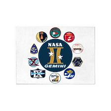 Gemini Commemorative 5'x7'Area Rug