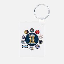 Gemini Commemorative Keychains