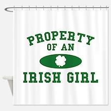 Property Of An Irish Shower Curtain