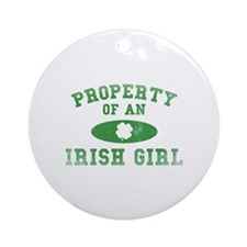 Property Of An Irish Ornament (Round)
