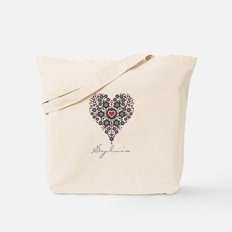 Love Sylvia Tote Bag