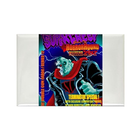 SuperCreep HorrorHound Weekend Rectangle Magnet