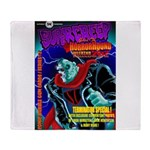 SuperCreep HorrorHound Weekend Throw Blanket