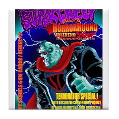 SuperCreep HorrorHound Weekend Tile Coaster