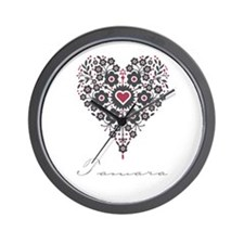 Love Tamara Wall Clock