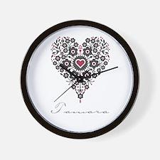 Love Tamara Wall Clock