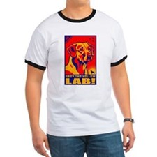 Obey the Yellow Lab! 06 Ash Grey T-Shirt