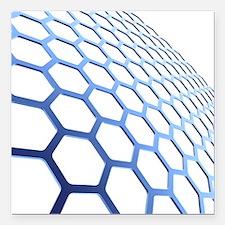 Graphene - Square Car Magnet 3