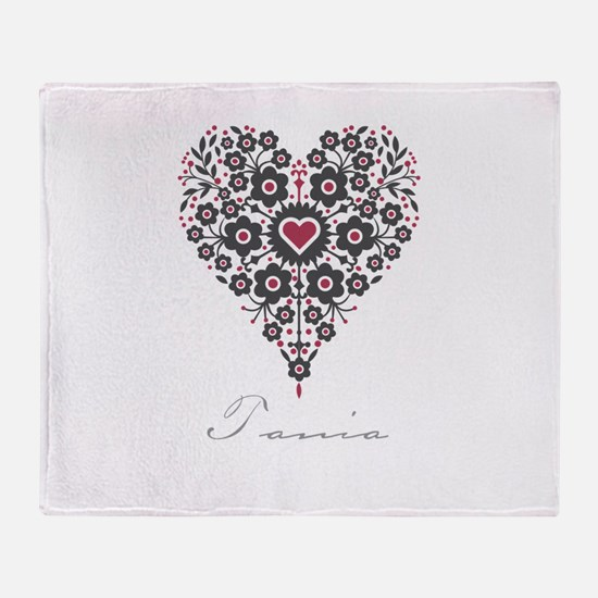 Love Tania Throw Blanket