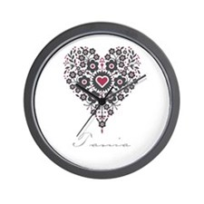 Love Tania Wall Clock