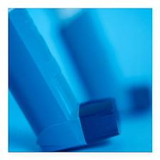Asthma inhalers - Square Car Magnet 3