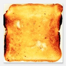 Buttered toast - Square Car Magnet 3
