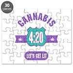 Cannabis 420 Puzzle