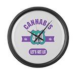 Cannabis 420 Large Wall Clock