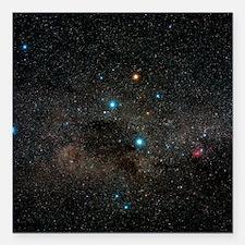 Crux constellation - Square Car Magnet 3