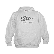 Join or Die Tribute to Benjamin Franklin Hoodie