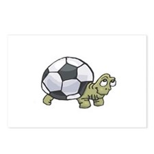 Soccerball Turtle Postcards (Package of 8)