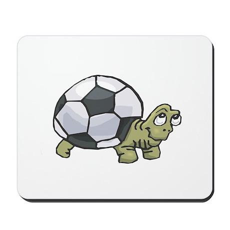 Soccerball Turtle Mousepad