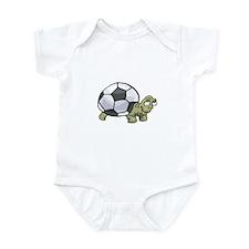 Soccerball Turtle Infant Bodysuit