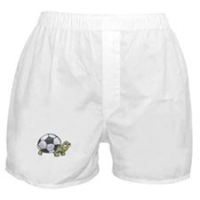 Soccerball Turtle Boxer Shorts