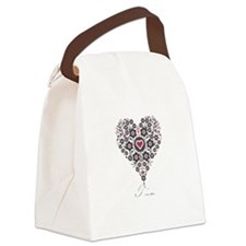 Love Tia Canvas Lunch Bag
