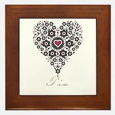 Love Tia Framed Tile