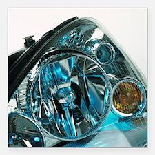 Headlamp assembly - Square Car Magnet 3