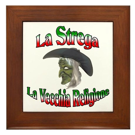 La Strega Framed Tile
