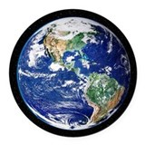 Earth Round Car Magnets