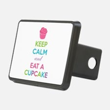 Keep calm and eat a cupcake Hitch Cover