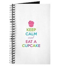 Keep calm and eat a cupcake Journal