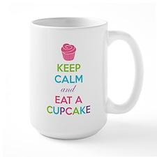 Keep calm and eat a cupcake Mug