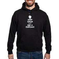 Keep calm and eat a cupcake Hoodie