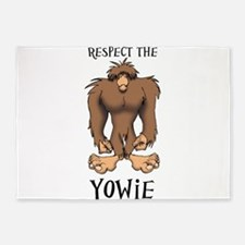 RESPECT THE YOWIE 5'x7'Area Rug