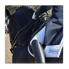 Friesian Sporthorse Dressage Tile Coaster