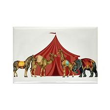 Circus Rectangle Magnet