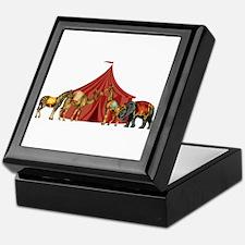 Circus Keepsake Box