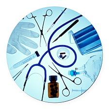 Medical equipment - Round Car Magnet