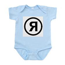 R Logo Infant Bodysuit